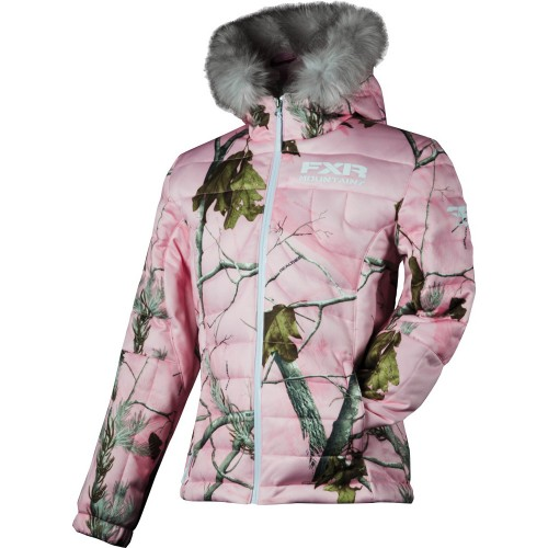 FXR Puff Camouflage Womens Jacket
