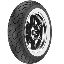 Dunlop K555 OEM Whitewall Rear Tire