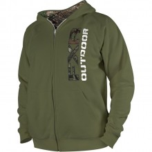 FXR Outdoor Zippered Hoody