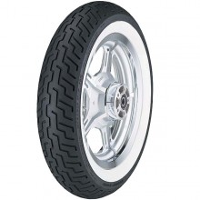 Dunlop D404 Whitewall Front Tire