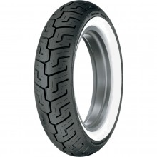 Dunlop D401 Harley Davidson Rear Whitewall Tire