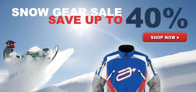 Snowmobile Sale - Save up to 40%