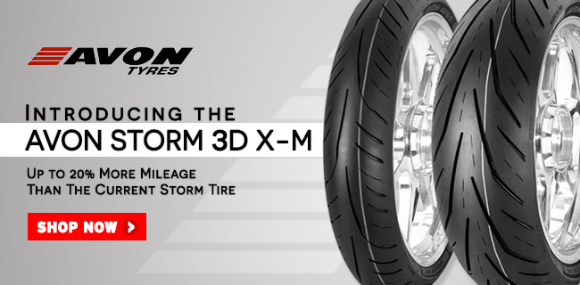 Avon Storm 3D X-M Motorcycle Tires - Now Available