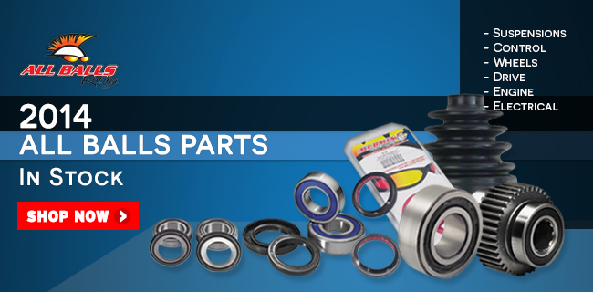 All Balls Bearings for Motorcycles, Dirt Bikes & ATVs